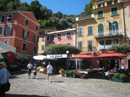 Portofino, la piazzetta e il porticciolo